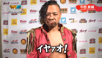 Shinsuke Nakamura Says Japanese Wrestling May Need To Change
