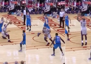 Josh Smith Absolutely Owned Dirk Nowitzki With This Dream Shake
