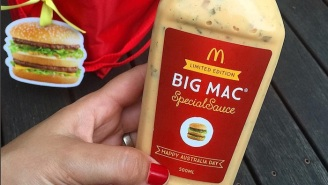 McDonald's Is Selling Special Sauce And Cheeseless Mozzarella Sticks