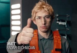 Okay, Which One Of You Nerf Herders Got A Tattoo Of Kylo Ren As Matt The Radar Technician?