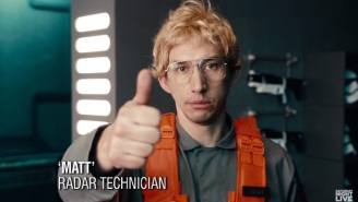 Okay, Which One Of You Nerf Herders Got A Tattoo Of Kylo Ren As Matt The Radar Technician?