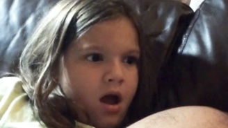 This Little Girl Has The Best Reaction To Finding Out Who Luke's Father Is In 'The Empire Strikes Back'