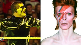 Stardust Revealed His David Bowie Tribute For WWE Raw And Yes, It's Perfect