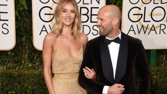 Jason Statham Had A Reason To Celebrate Last Night Even Though He Didn't Win Any Golden Globes