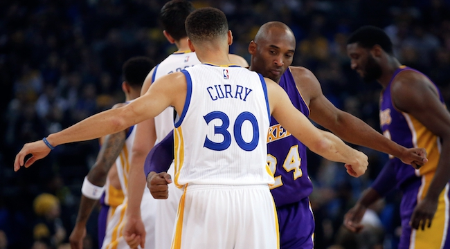 Stephen Curry, Kobe Bryant
