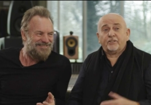 Sting And Peter Gabriel To Tour North America This Summer