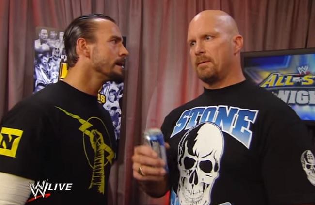 Stone Cold Steve Austin CM Punk WWE