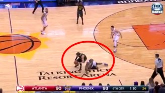 Watch The Hawks And Suns Combine For An Amazingly Awful 30 Seconds Of Basketball