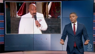 'The Daily Show' Skewers Steve Harvey, Affluenza, And Texas To Make Up For Their Holiday Break