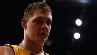 A Not-At-All-Joking Plea For The Lakers To Have Timofey Mozgov Regularly Shoot 3-Pointers