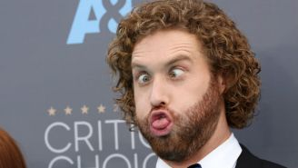 T.J. Miller Burned Ricky Gervais While Hosting The Critics' Choice Awards