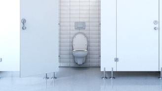 This Artist Is Set To Parody Pretentious Art By Sitting Naked On A Toilet For Two Days
