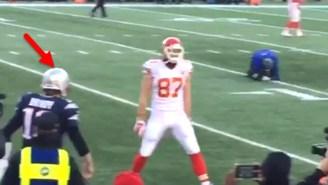 Did Travis Kelce Mock Tom Brady Before The Game?