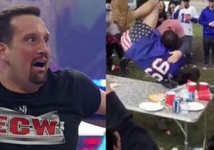 Watch Tommy Dreamer And Katie Nolan Critique The Hardcore Moves Of Buffalo Bills Fans