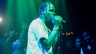 Watch Travis Scott Break His Own Record By Performing 'Goosebumps' Live Fifteen Times In A Row