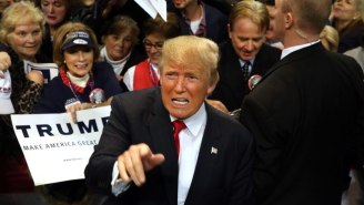 An Unflappable Donald Trump Says He's Not Bothered By The Al Qaeda Recruitment Video