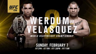 What The Heck Is Going On With The Seemingly Doomed UFC 196 Pay-Per-View?
