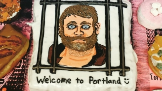 Here's How Voodoo Doughnut Welcomed Ammon Bundy To His Portland Home