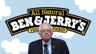 Ben & Jerry's Might Introduce A Bernie Sanders-Inspired Flavor During His Presidential Run