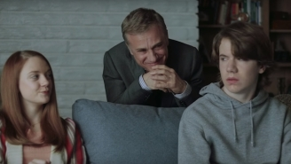 Do You Think Christoph Waltz Murders The Snotty Teen In That 'Clash Of Clans' Commercial?