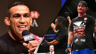 Fabricio Werdum 'Burns' Firefighter Stipe Miocic After Pulling Out Of UFC 196