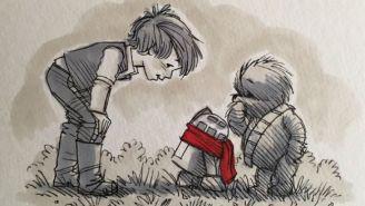 'Star Wars' Meets 'Winnie The Pooh' In 'Wookie The Chew'