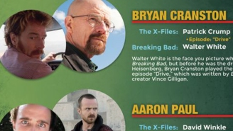 Here's every connection between 'The X-Files' and 'Breaking Bad'