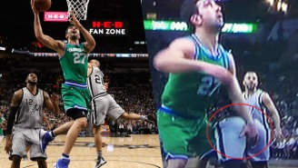 Boris Diaw Posts Jarring Evidence Why Zaza Pachulia Should Have Gotten A 'Flagrant Foul'
