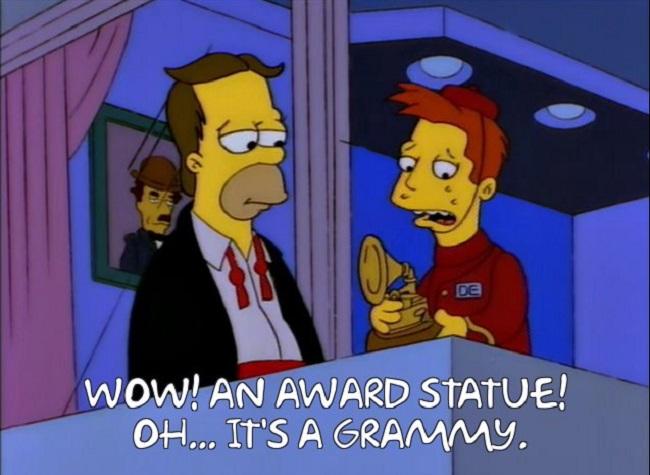Simpsons Grammys