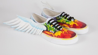High Schoolers Are Doing Some Incredible Stuff To Shoes In The Name Of Art Education