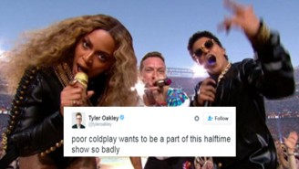 The Best Internet Reactions To Coldplay's Super Bowl 50 Halftime Show With Beyonce And Bruno Mars