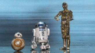 C-3PO, R2-D2, And BB-8 Crashed The Oscars To Celebrate John Williams
