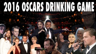 Your Official 2016 Oscars Drinking Game