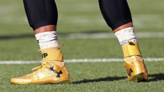 A Former NFL Coach Said Cam Newton Was 'Soft' Because He Wore Gold MVP Cleats