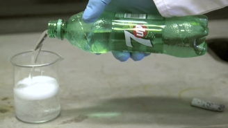 Chemists Accidentally Prove 7Up And Lithium Really Don't Mix