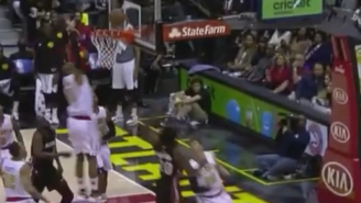 Al Horford Swats Justise Winslow's Layup Attempt Into Another Dimension
