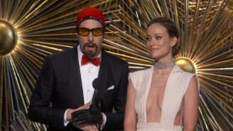 Sacha Baron Cohen Turned Back The Clock At The Oscars With This Excellent Ali G Routine