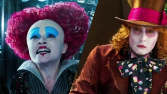 Alan Rickman Kicks Off The Trippy New Trailer For 'Alice Through The Looking Glass'