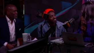 Andre 3000 Crashes An L.A. Reid Interview
