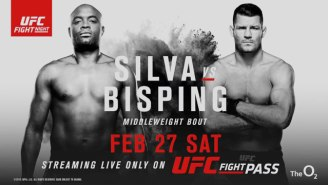 Oh Yeah, Anderson Silva Is Fighting Michael Bisping This Weekend In London