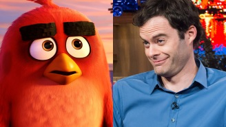 'Angry Birds' star Bill Hader stops pretending to know 'Angry Birds'