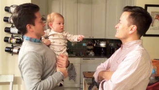 This Baby's Mind Is Blown When Confronted With Father's Twin Brother