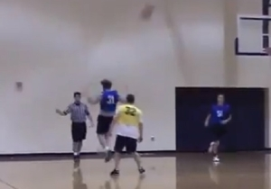 This Backward Full-Court Buzzer Beater Is The Best Intramural Sports Highlight
