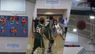 This High School Team Advanced To The State Final After A Wild Steal And Half-Court Buzzer Beater