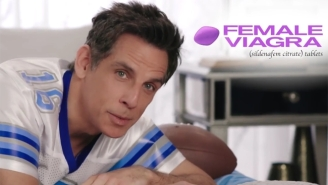 Ben Stiller Promotes Female Viagra In This Strange Cut Super Bowl Commercial