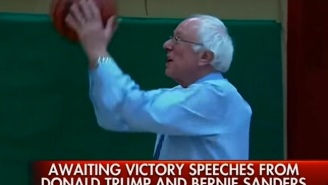 Bernie Sanders Balled On The Basketball Court After Winning New Hampshire