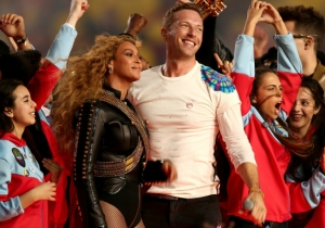 Chris Martin Talks About Woefully Losing The Super Bowl Dance-Off With Bruno Mars And Beyonce