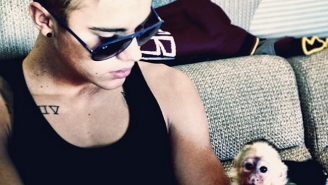 Wildlife Conservationists Are Not Happy That Justin Bieber Is Considering Another Pet Monkey