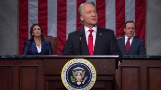 Bill Maher Channels Donald Trump To Show How A Future State Of The Union Address Might Look