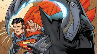 It's A Giant Lizard Murder Mystery In This Exclusive Preview Of Next Week's 'Batman/Superman'